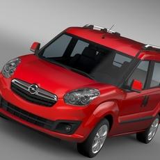 Opel Combo Tour (D) 2015 3D Model