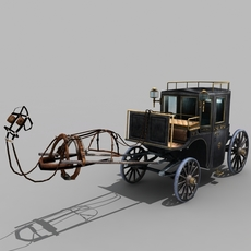 Carriage 02 3D Model