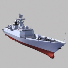 Chinese Navy 054A frigate 3D Model