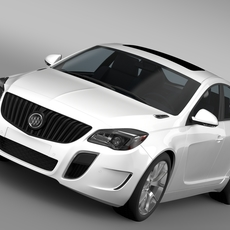 Buick Regal GS 2015 3D Model