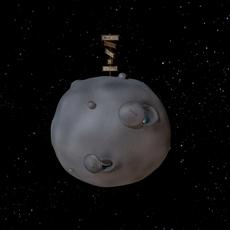 Mini Moon 3D Model