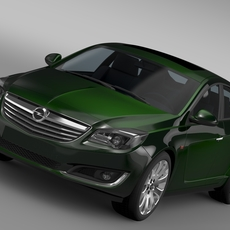 Opel Insignia Hatchback 2015 3D Model