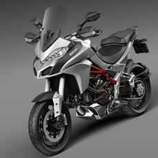 Ducati Multistrada 1200 2015 3D Model
