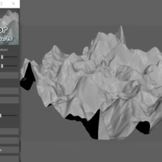 Terrain Sculptor for Maya 1.0.0 (maya script)