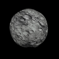 Animated HD Asteroid Model 3D Model