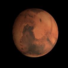 Animated 8K Mars Model 3D Model
