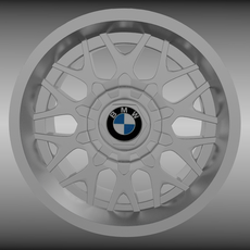 BMW rim 5 3D Model