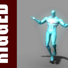 Captain Atom (Rig) for Maya 1.0.2