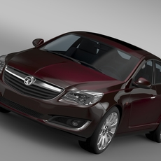 Vauxhall Insignia Hatchback 2015 3D Model