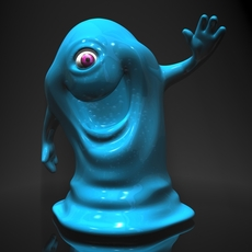 Bob from Monsters vs Aliens RIGGED 3D Model