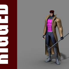 Gambit (Rig) for Maya 1.0.3