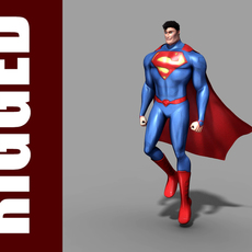 Superman (Rig) for Maya 1.0.1