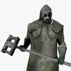 Dark Man 3D Model