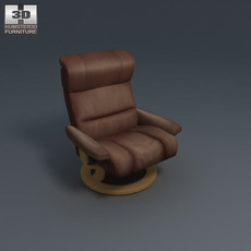Savannah Armchair 3D Model