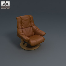 Vegas Armchair 3D Model