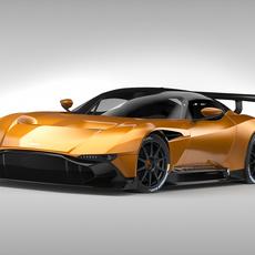 Aston Martin Vulcan (2016) 3D Model