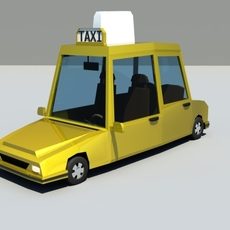 Cartoon Taxi for Maya 1.0.0