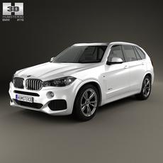 BMW X5 M Sport Package (F15) 2014 3D Model
