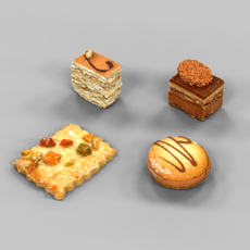 Cookie Collection 1 3D Model