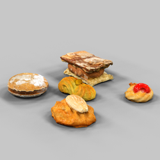 Cookie Collection 2 3D Model