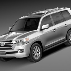 Toyota Land Cruiser 2016 3D Model