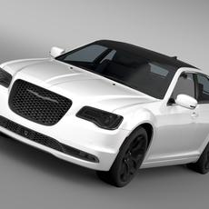 Chrysler 300S AWD LX2 2016 3D Model