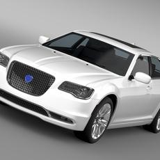 Lancia Thema 2016 3D Model