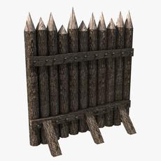 Stockade construction kit 3D Model