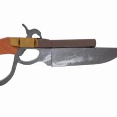Knife Gun Repro 3D Model