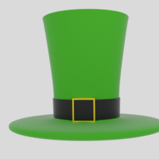 Wacky Leprechaun Hat 3D Model