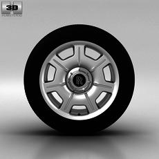 Rolls-Royce Phantom Wheel 21 inch 001 3D Model