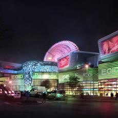 commercial Plaza 009 3D Model