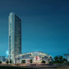 Commercial Plaza 015 3D Model