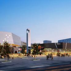 Commercial Plaza 017 3D Model