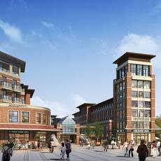 Commercial Plaza 019 3D Model