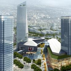 Commercial Plaza 022 3D Model