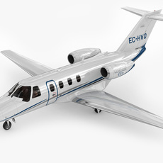 Cessna 525 CJ1+ Citation Jet 3D Model