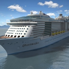 Quantum Of The Seas VRAY 3D Model