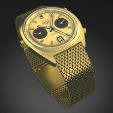 Tag Heuer Carrera 1158 watch 3D Model