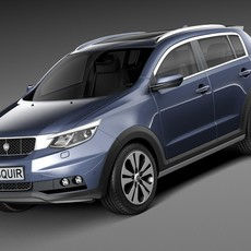 Generic SUV v1 2016 3D Model
