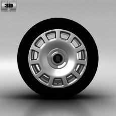 Rolls-Royce Phantom Wheel 21 inch 005 3D Model