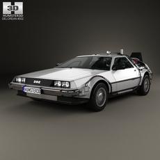 DeLorean DMC-12 (BTTF) 1981 3D Model