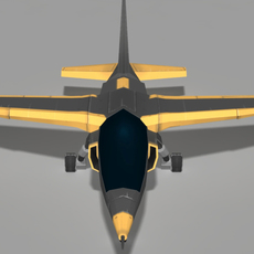 Dassault  Alpha Jet 3D Model