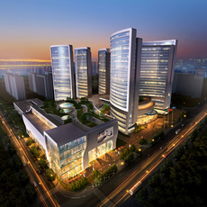 Commercial Plaza 038 3D Model