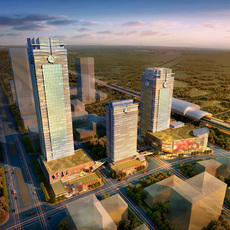 Commercial Plaza 039 3D Model
