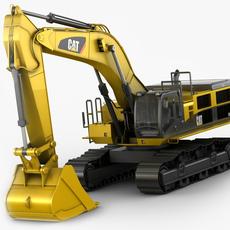 Excavator Caterpillar CAT 390D 3D Model