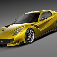 Ferrari F12tdf 2016 3D Model