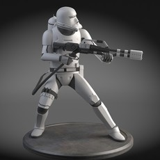 Star Wars First Order Flametrooper 3D Model