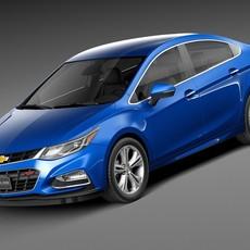 Chevrolet Cruze Sedan 2016 3D Model