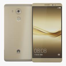 Huawei Mate 8 Gold 3D Model